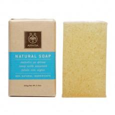 Натуральное мыло мёд и водоросли